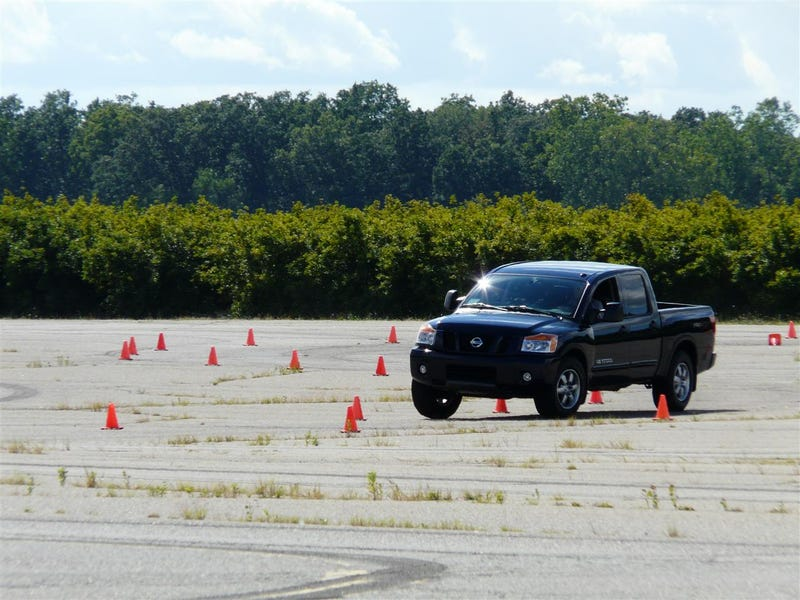 Jalopnik's 2009 Pickup Truck Comparison Head-To-Head Jubilee Event Challenge Spectacular!