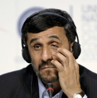 Ahmadinejad's Website Hacker Is Extremely Ballsy