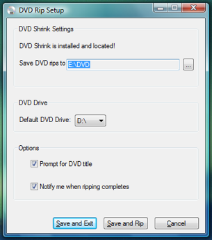 DVD Rip Automates One-Click DVD Ripping