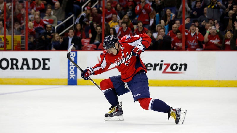 Alex Ovechkin Scores Four, Is Ridiculous