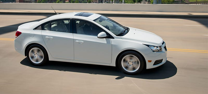 Dealers Ordered To Stop Selling Chevrolet Cruze For A Safety Defect