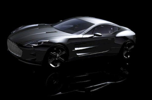 $1.896 million Aston Martin One-77 Sales Contract Leaks With More Pictures, Details