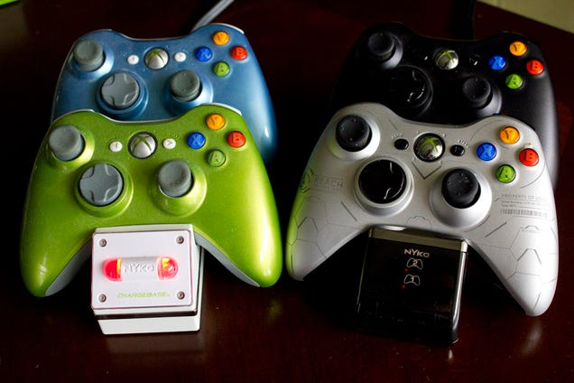 Nyko's Charge Base S For Xbox 360 Improves On The Unimprovable
