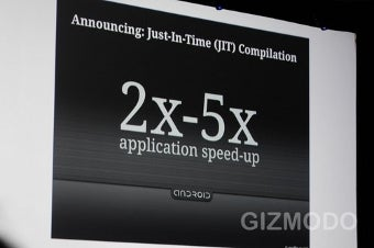 Google Announces Android 2.2 with Flash, Google TV at I/O Conference