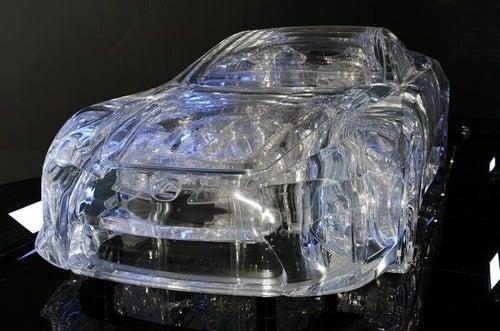 Lexus LFA In Crystal: Photos
