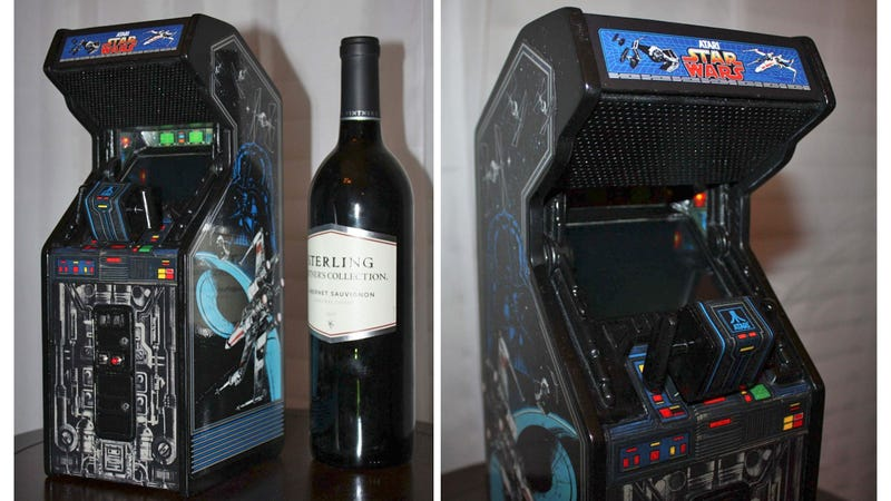Wine Bottle-Sized Star Wars Arcade Is a Better Way To Drown Your Sorrows