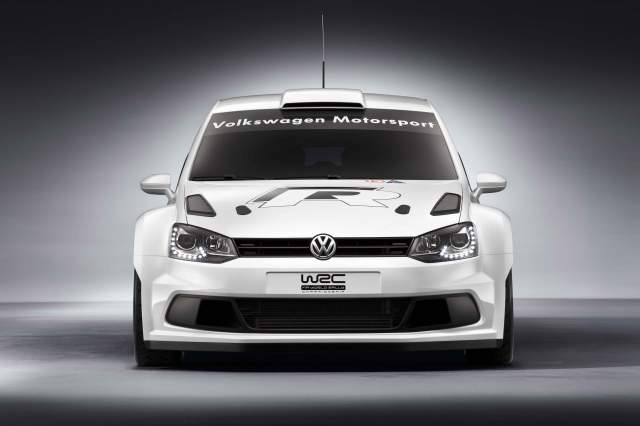 The Volkswagen Polo R WRC is tiny hotness