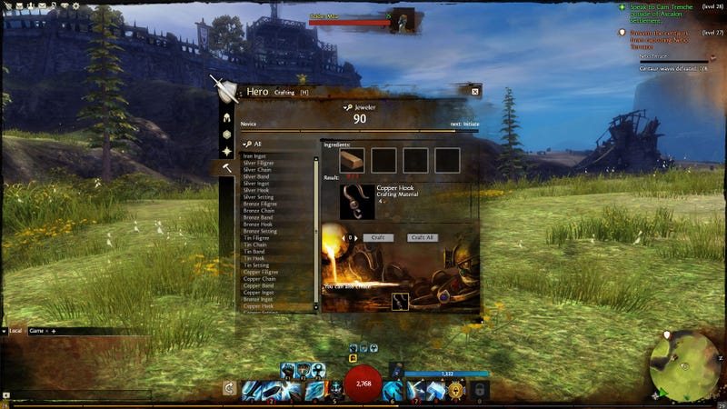Even Legendary Guild Wars 2 Heroes Have To Craft Stuff