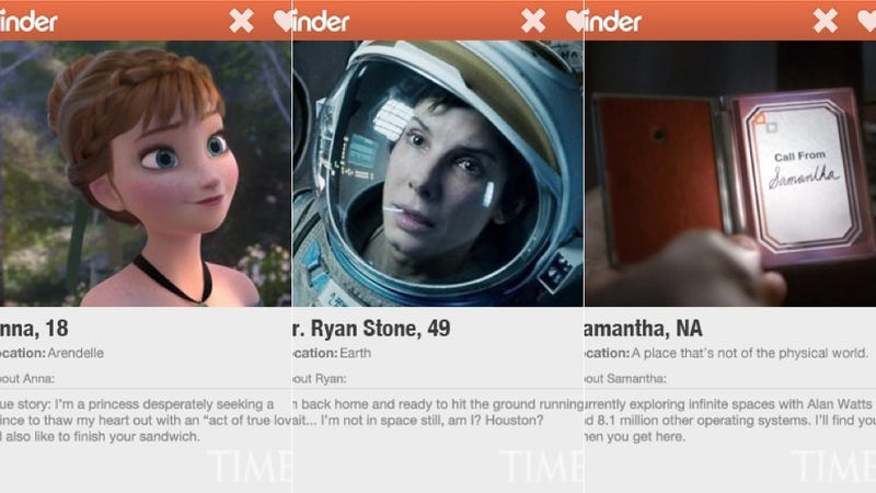 Would You Swipe Right for These Oscar-Nominated Characters?
