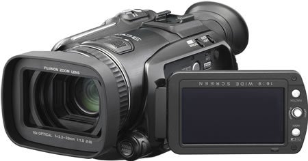 JVC HD Everio GZ-HD7 Hard Drive Camcorder with 3 CCDs Due Next Month
