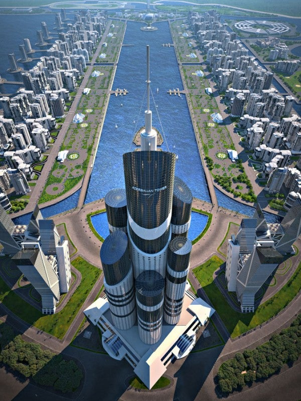 The Highest Skyscraper In the World Will Be This 3,444-Foot Turd