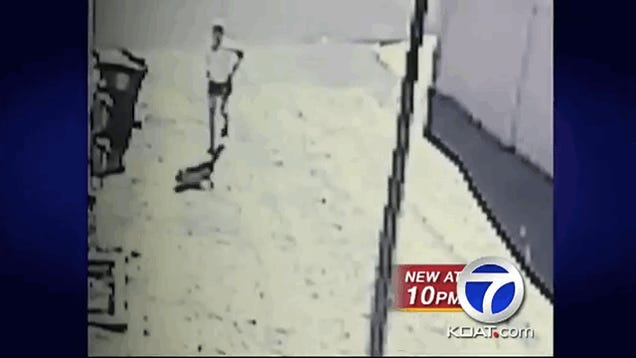 New Mexico Jogger Repeatedly Poops on Man's Home