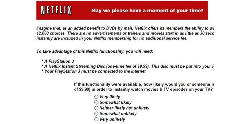 Netflix Interested In The PS3
