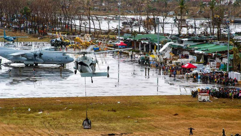 The US Is Sending an Armada of Aid to Typhoon-Ravaged Philippines