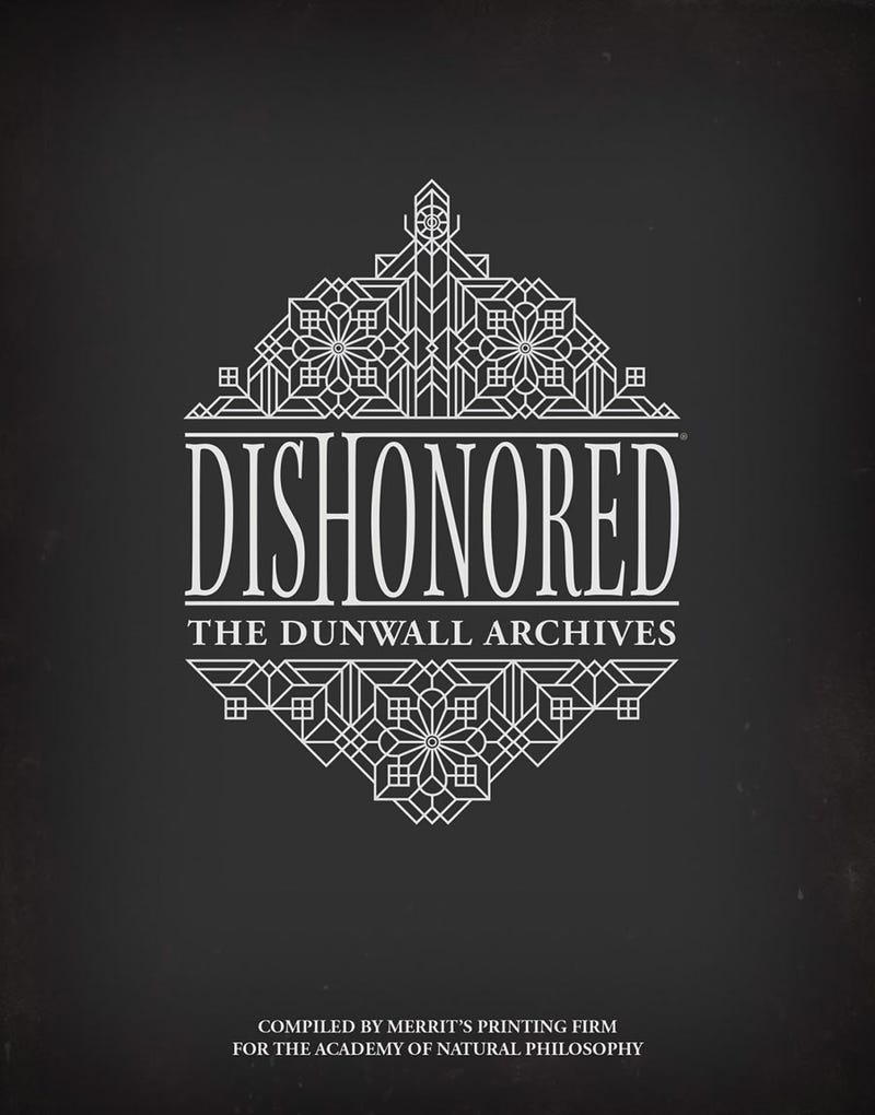 New Dishonored Art Book And Mass Effect Models By Dark Horse