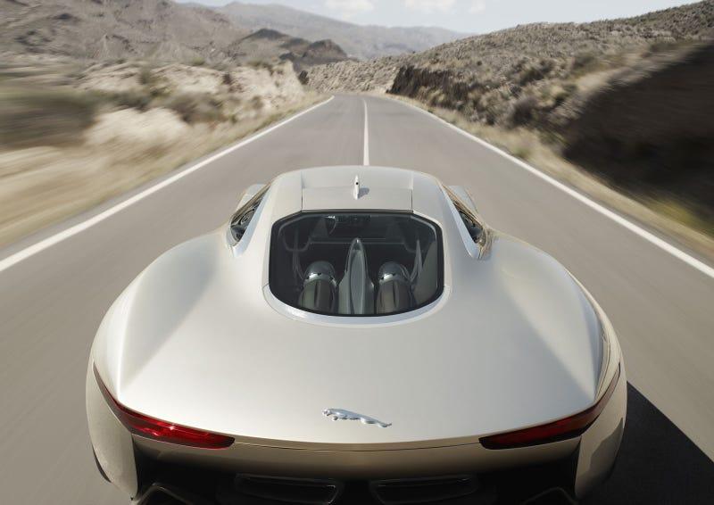 Jaguar C-X75 Concept: First Exterior Photos