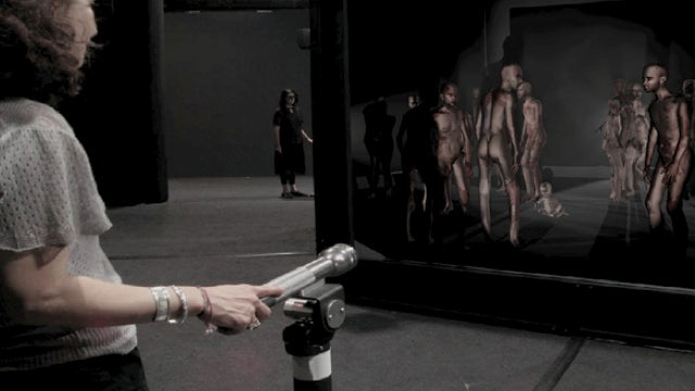 A horrifying Samuel Beckett short story...in 3D?