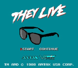 Buffy The Vampire Slayer, They Live, and other science fiction Nintendo games that never existed