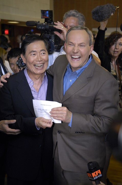 George Takei & Brad Altman: Gettin' Hitched!