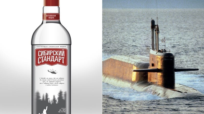 Drunk Russian Fishermen Crash into Nuclear Submarine