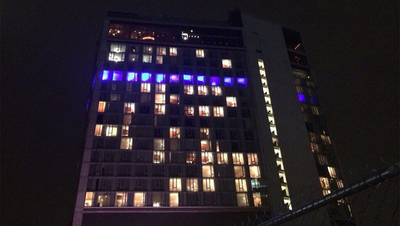 Sony Turns Hotel Into Giant Concrete PS4