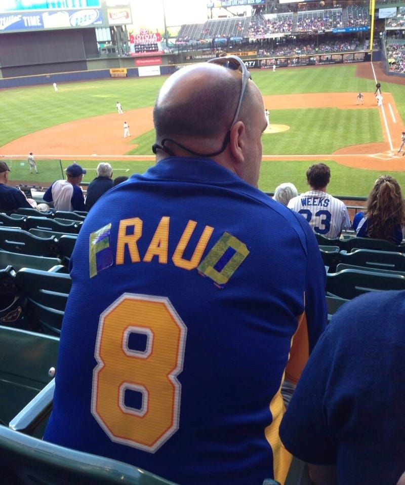 Brewers: We're Sorry Ryan Braun Cheated, Here's A Hot Dog
