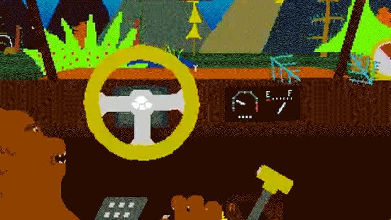 The Ten Weirdest Car Video Games