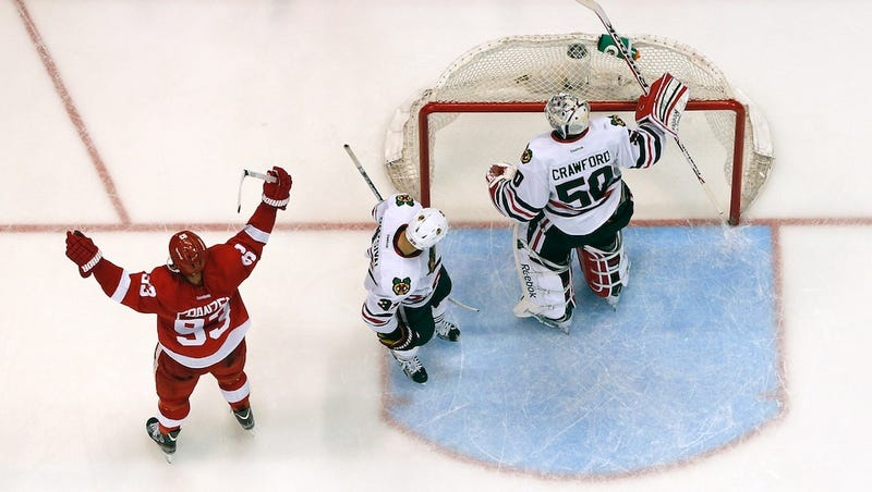 A Brutal No-Goal Call, And The Blackhawks Are On The Ropes