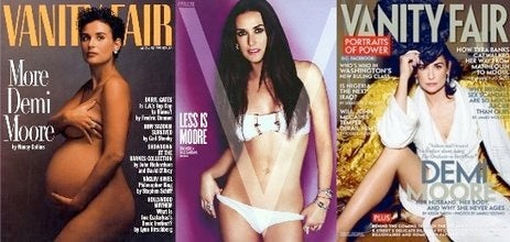 Demi Moore Loves Her Vagina! 'Vanity Fair' And 'V' Love It Too!