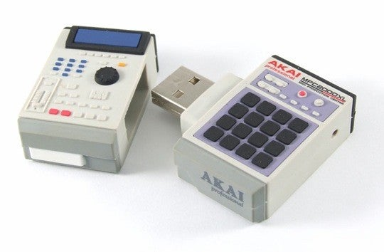 Mini MPC 2000XL Sampler and SP1200 Drum Machine USB Flash Drives