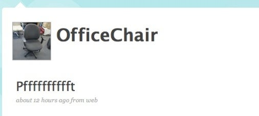 Man Builds Chair That Tweets His Farts, Single-Handedly Justifies Twitter's Existence