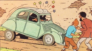 This website lists all the cars of Tintin comics