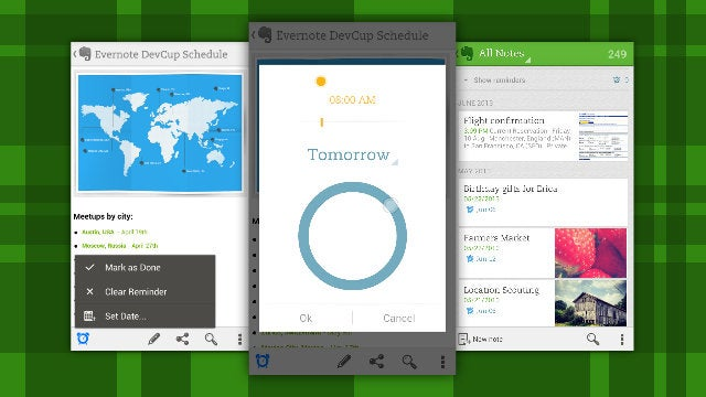 Evernote for Android Gets Reminders