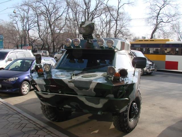 Russian Fighting Vehicle Gallery