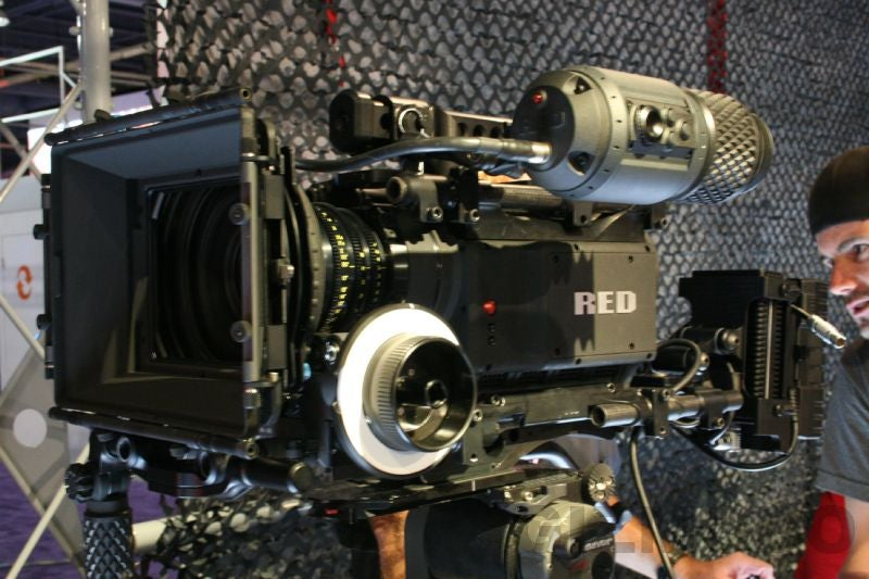 Eyes-On the Red Camera: Real and Beautiful, 4K Support Promised on Launch [UPDATED]