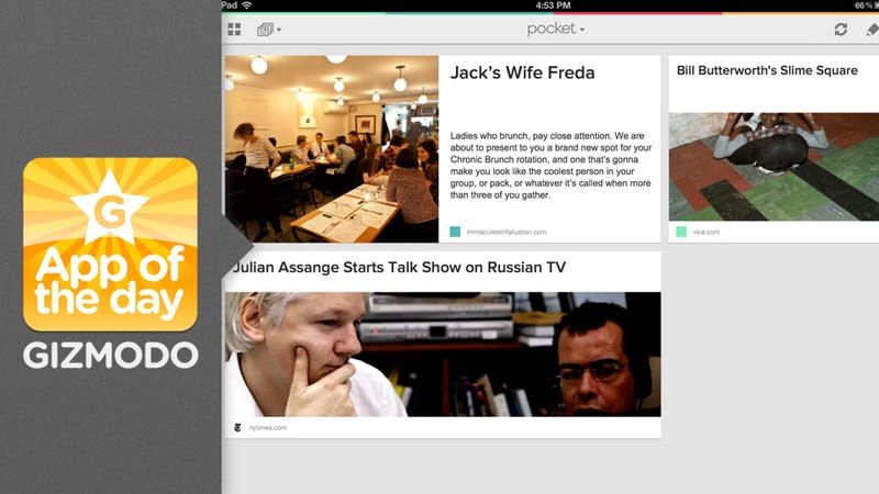 Pocket: Read it Later Goes Free, Bulks Up Features