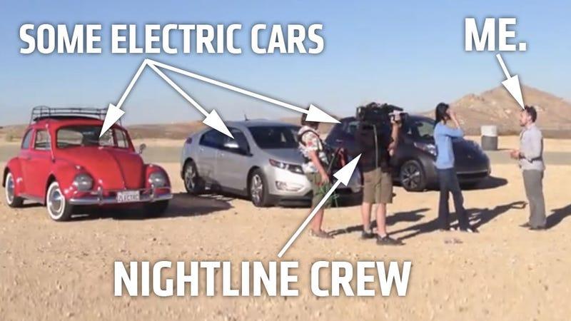 Watch Me Talk Electric Cars On Nightline Tonight!