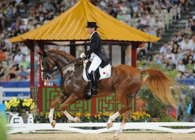 70-Year-Old Japanese Equestrian Earns Spot In London Olympics