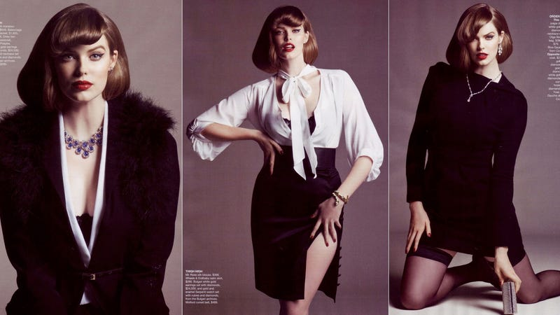 Vogue Australia's First-Ever Plus-Size Fashion Spread