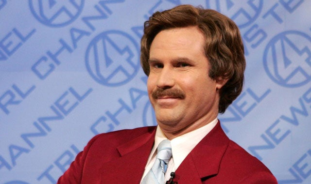"Other Popular Guess About Tomorrow's Today Show Host ""Legend"": Will Ferrell Doing Ron Burgundy"