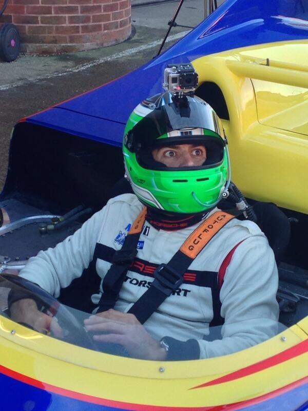 This Is The Face Of A Man Who's Felt 1600HP @ A Cold Brands Hatch