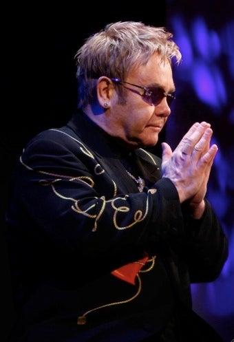 Elton John's Gaydar Goes 'Bing!' When He Thinks of Jesus