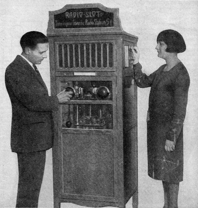 This Coin-Operated Radio Was Like a Vending Machine For Your Ears