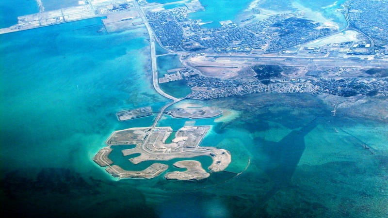 These Amazing Artificial Islands and Archipelagos Rule the Waves