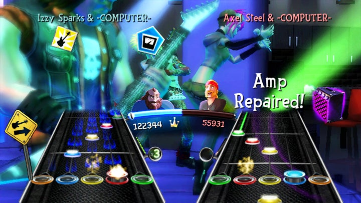 Guitar Hero 5 Wii's Roadie Battle Preview: Bring On the DS
