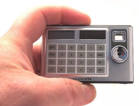 Digital Card Calculator Spycam Is Sneaky Circa 1985