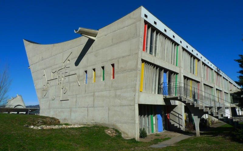 A Rare Tour of Le Corbusier's Last (and Most Brilliant) Building