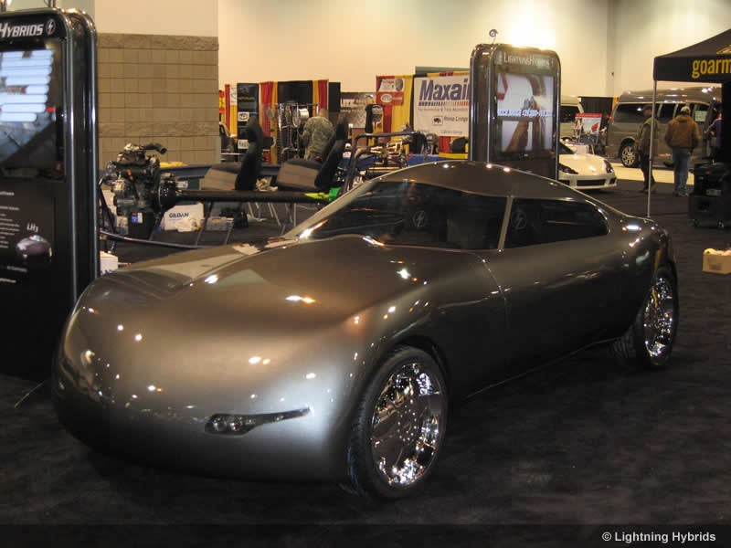Lightning Hybrids LH4: 100 MPG Biodiesel-Hydraulic Concept