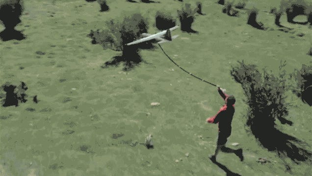 I Wish This Energy Drink-Delivering Drone Would Accompany My Workouts