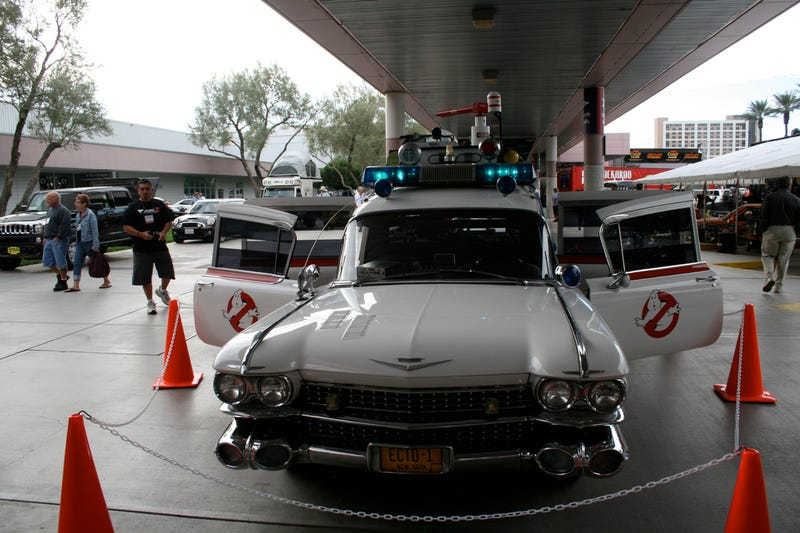 ECTO-1 Gets A Sound System Upgrade In Time For SEMA